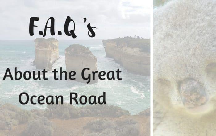 FAQ's Great Ocean Road Australia