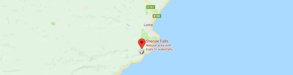 Sheoak Falls Otways Great Ocean Road