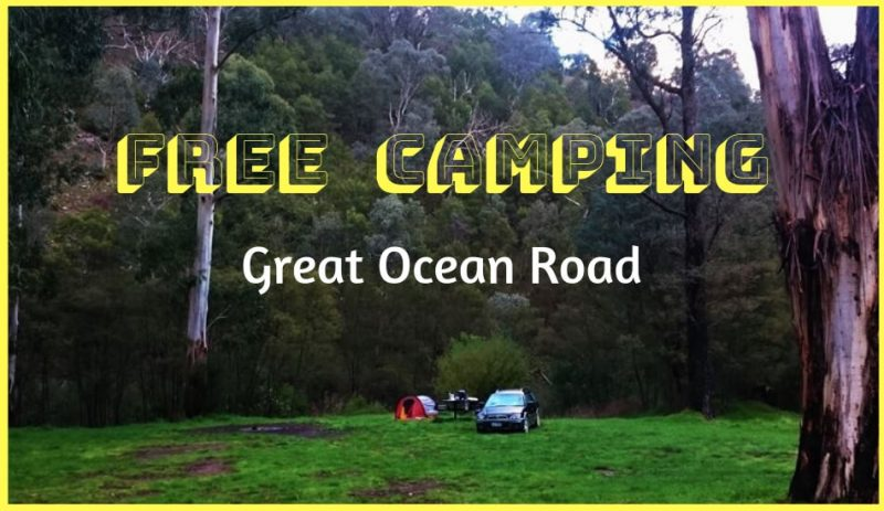 Free Camping Great Ocean Road