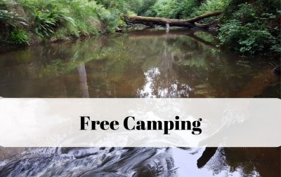 Free Camping on the Great Ocean Road Australia