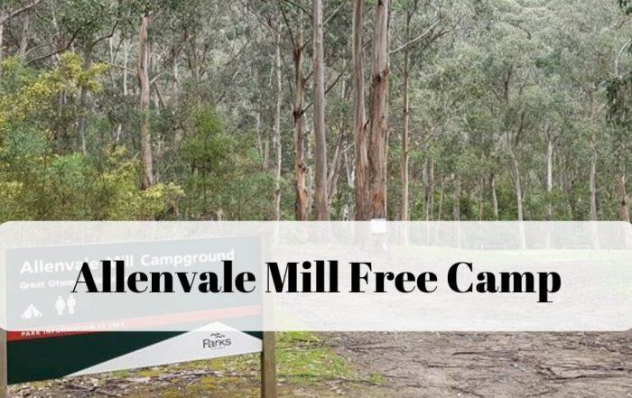 Allenvale Mill Free Campground Lorne